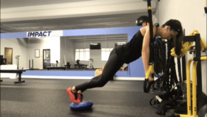 Why is the TRX suspension trainer beneficial?